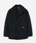 HEAVY WOOL PEA COAT