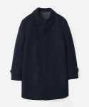 WOOL MACKINTOSH COAT NAVY (맥코트)