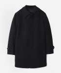 WOOL MACKINTOSH COAT BLACK (맥코트)