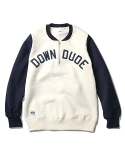 Down Dude Heavyweight Zip-Up Sweat Navy