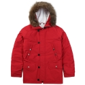 [BMC X PLAYMONSTERS]PLAYBALL Padding Jacket PM141013-03_RED