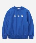 CVN LOGO CREWNECK ROYAL BLUE