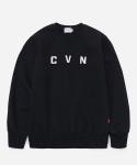 CVN LOGO CREWNECK BLACK