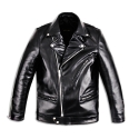 Italian Cowhide Over-Size Rider Jacket.