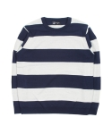 Intarsia Stripe Knit(blue)