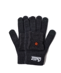 KNIT POCKET GLOVE (CHARCOAL)