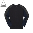 G4w05018 - Herringbone+Denim T-Shirt