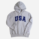 챔피온(CHAMPION) REVERSE WEAVE HOODED PULLOVER (U.S.A)