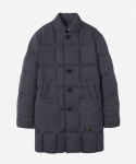 PADDED DOWN COAT CHARCOAL