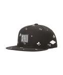 [Space Adventure] Space Pattern Snapback (Black)