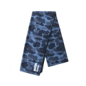 레이어 유니온(LAYER UNION) CAMO FLEECE MUFFLER BLUE