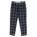 UTP 14 wool tartancheck pants_blue