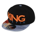 [킹포에틱] KING POETIC SNAPBACK 14 LIGHT BLUE FLORAL