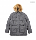 HEXA DUCK DOWN PARKA (GREY)