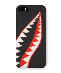 Cellphone cover shark tooth (iPhone 5) black