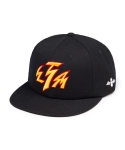 리타(LEATA) LTA lightning 6 panel cap black