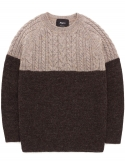 British shepley knit brown