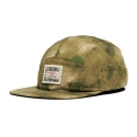 크룩스앤캐슬(CROOKS & CASTLES) CROOKS & CASTLES Mens Woven 5 Panel Hat - Les Voleurs