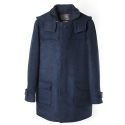 언티지 UTO 305 insulation wool single coat_navy(남여공용)