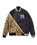 LEATA x MIZUNO reversible baseball jacket