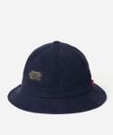 CORDUROY COTTON BUCKET HAT NAVY