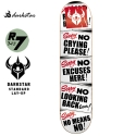 다크스타(DARKSTAR) [Darkstar] SIGNS RED SL DECK 7.75
