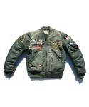 [XTONZ] SAGA MA-1 Flight Jacket (Khaki)