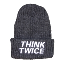 UHG 78 think twice beanie_dark grey(남여공용)