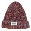 UHG 82 mixed color beanie_burgundy(남여공용)