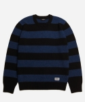 페이퍼리즘 BOLD STRIPE KNIT [BLUE]