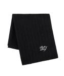 Wool 100 Black_Muffler