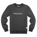 AZ HOLIDAY CREWNECK (CHARCOAL)