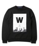 [기모]위씨 오브 런던 기모맨투맨(블랙) Wissy Of London Sweat Shirt(black)