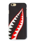 Cellphone cover shark tooth (iPhone 6) black