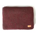 언티지 UTA 507 waffle knit muffler_red(남여공용)