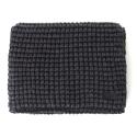 언티지 UTA 508 waffle knit muffler_charcoal(남여공용)