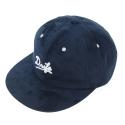 SUEDE 6 PANEL CAP-NAVY