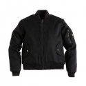 DIR.B MA-1 JACKET BLACK