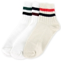 탄포포(TANPOPO) Ankle Stripe Socks 3종 세트