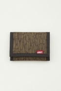 QUALITY DISSENT TRIFOLD WALLET DARK OLIVE
