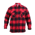 로스코(ROTHCO) BRAWNY SHERPA FLANNEL JACKET (RED)