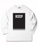 KEEP long sleeve tall tshirt - black