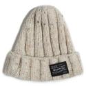 M#0493 nep wool beanie (ivory)