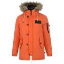 TOTTO Padding Parka Jacket (Orange)