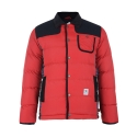 TRANS Padding Parka Jacket (Red)