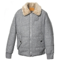 UTO 703 untage wool bomber jacket_grey(남여공용)