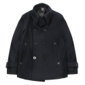 Lighthouse Pea coat navy