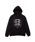 LET THE ROLL PULLOVER HOOD BLACK