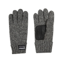 HEAVY KNIT GLOVE CHARCOAL