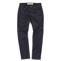 언티지 UTD 12 basic slim straight denim pants_indigo blue